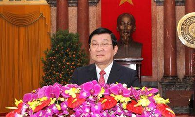 Clip: Lời chúc Tết ý nghĩa của Chủ tịch nước Trương Tấn Sang