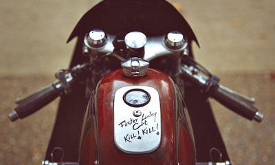 """Xe đua hoài cổ """"gột"""" từ siêu mô tô BMW S1000 RR"""