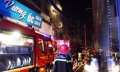 Cháy kho siêu thị Hà Nội ở trung tâm Sài Gòn