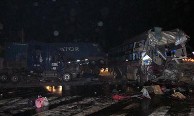 Lại tai nạn xe khách làm 1 người chết, hơn 20 người bị thương