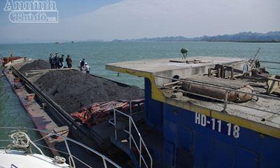 Liên tiếp bắt giữ tàu chở khoáng sản không rõ nguồn gốc