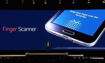 Galaxy S5: khác biệt từ cảm biến vân tay