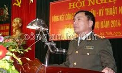 Hà Tĩnh: Bổ nhiệm mới giám đốc, các phó giám đốc công an tỉnh