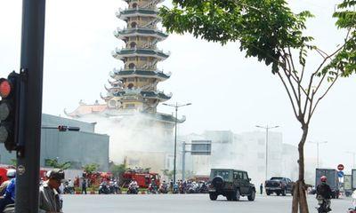 TP.HCM: Cháy lớn tại Công ty dệt may Gia Định