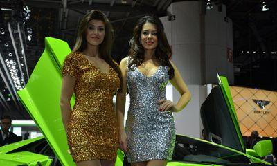 Những bóng hồng kiều diễm tại Geneva Motor Show 2014 (P.1)