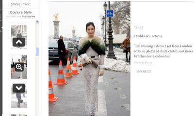 Lý Nhã Kỳ được tạp chí Vogue Nhật ví như công nương