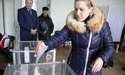 Hơn 90\% người dân Crimea bỏ phiếu gia nhập Nga