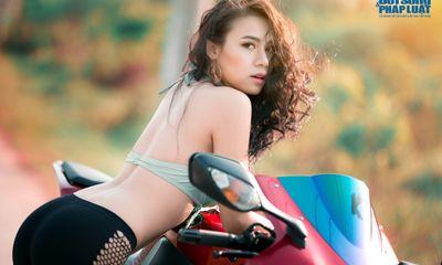 9X Sài thành nóng bỏng bên siêu mô tô Honda CBR 1000RR