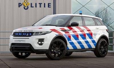 Range Rover Evoque rực rỡ trong sắc phục cảnh sát