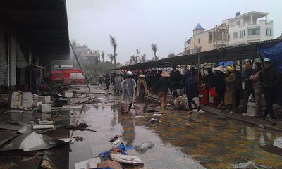 Vụ cháy chợ phố Hiến: Chủ đầu tư nhận trách nhiệm