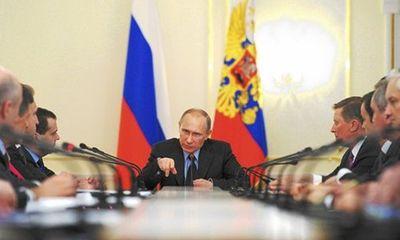Tổng thống Putin ký luật sáp nhập Crimea