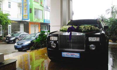 Rolls-Royce Phantom độc nhất Thái Bình làm xe hoa
