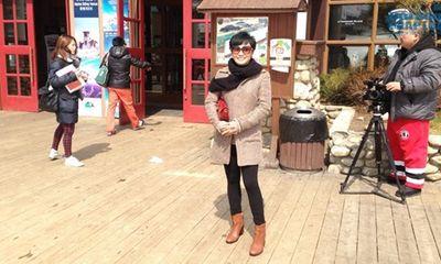 Phương Thanh một mình sang Hàn Quốc cùng thí sinh Ngôi sao Việt