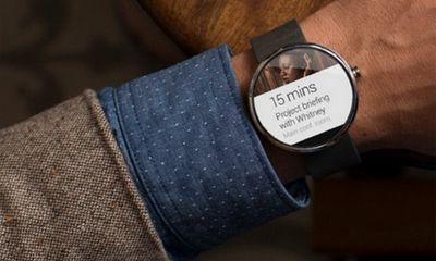 Lộ diện đồng hồ thông minh