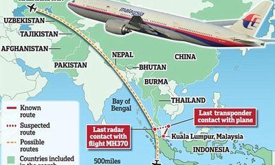 """Trung Quốc """"đòi"""" Malaysia cung cấp dữ liệu vệ tinh về MH370"""