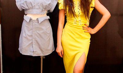 Mãn nhãn với màn biến áo thành váy của thí sinh Project Runway