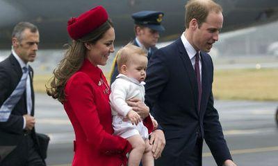"""Hình ảnh """"Hoàng tử nhí"""" nước Anh ở New Zealand"""