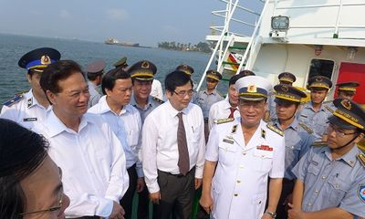 Ra mắt lực lượng kiểm ngư Việt Nam