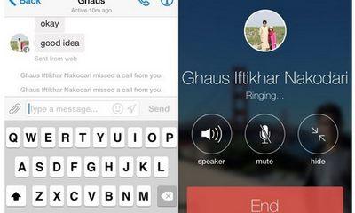 Facebook Messenger đã có thể gọi điện miễn phí