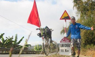 Chàng trai Việt đạp xe vòng quanh thế giới