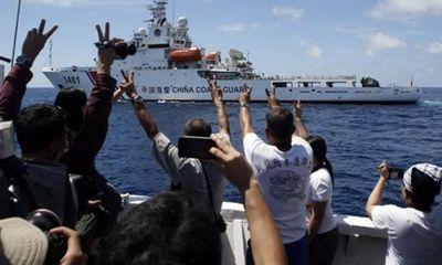 Cảnh sát biển Trung Quốc đuổi ngư dân ở Bãi Cỏ Mây