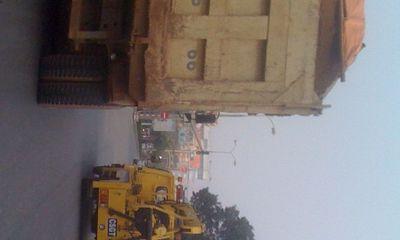 """Thành phố Thanh Hóa """"bất lực"""" trước thực trạng xe chở quá tải."""