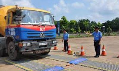 TP HCM lập trạm kiểm tra tải trọng xe lưu động