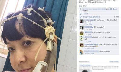Thảo Vân phủ nhận tin đồn bị teo não