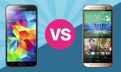 5 tính năng của Galaxy S5 mà One M8 thèm muốn
