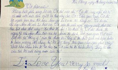 Hài hước những bức thư tình của trẻ tiểu học
