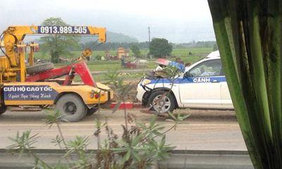 Xe CSGT Hà Nội tai nạn, 3 CSGT tử vong, 2 người bị thương