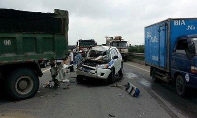 Tai nạn trên đường cao tốc, 3 CSGT tử vong