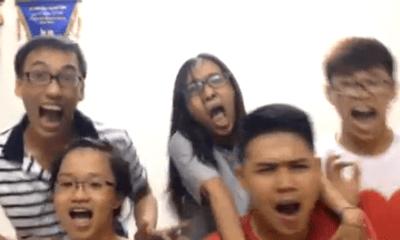 Cười té ghế với clip học sinh Việt hát nhép ca khúc Hoa kinh điển