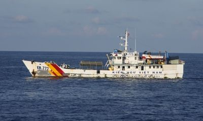 Gặp các kiểm ngư đang bảo vệ chủ quyền Tổ quốc ở biển Đông
