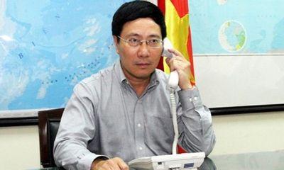 Tình hình Biển Đông: Phó Thủ tướng điện đàm với BNG Trung Quốc