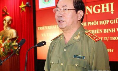 Bộ trưởng Công an làm việc với Bình Dương
