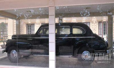 Ngắm chiếc xe 'siêu chống đạn' từng chở Hồ Chủ tịch