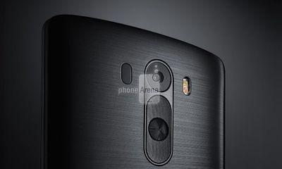 Mẫu điện thoại mới LG G3 đã lộ diện hoàn toàn