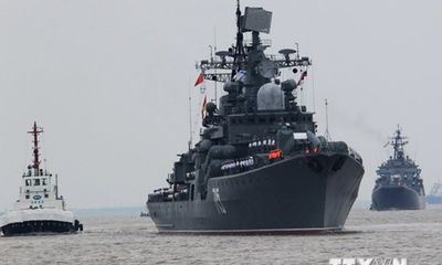 Tổng thống Nga bắt đầu chuyến thăm Trung Quốc