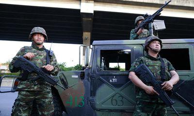 Tin nóng: Quân đội Thái Lan ban bố tình trạng thiết quân luật