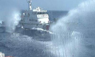 Tường thuật: Sức công phá khủng khiếp của vòi rồng tàu Trung Quốc
