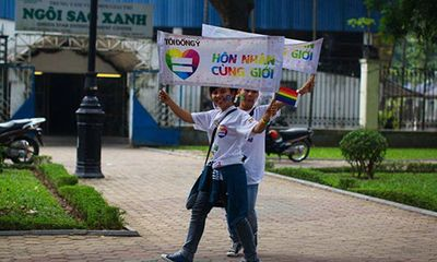 Hôn nhân đồng tính: Chưa có lối ra