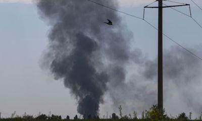 Trực thăng quân sự bị bắn rơi, tướng Ukraina mất mạng