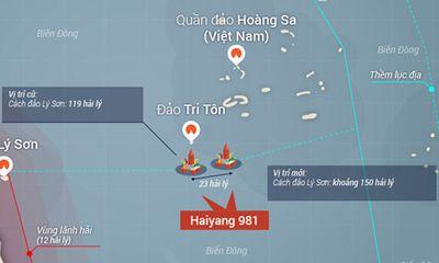 Tại sao giàn khoan Hải Dương 981 phải di chuyển?