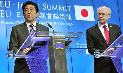 Nhật Bản và EU quan ngại về tranh chấp Biển Đông