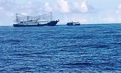 Tàu Trung Quốc gắn lê phá băng đâm tàu Việt Nam