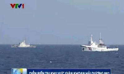 Tin tức Biển Đông tối 9/6: Tàu TQ ép tàu CSB VN ra xa giàn khoan