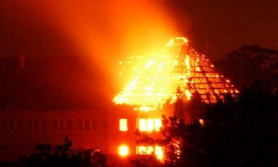 Cháy nổ lớn tại Xí nghiệp Bản đồ Đà Lạt lúc rạng sáng