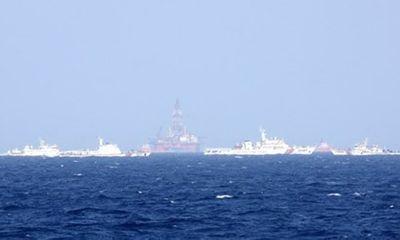 Hoàng Sa ngày 9/6: Tàu Trung Quốc vẫn dày đặc ở giàn khoan