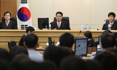 Các thủy thủ phà chìm Sewol hầu tòa
